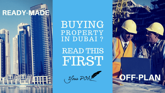 Buying Off Plan Or Ready-Made Property? You Must Read This First!