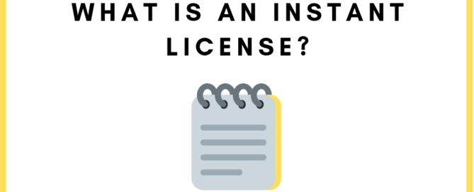 Instant License in the U.A.E