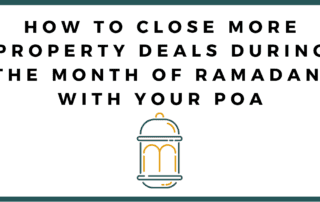 Ramadan With Your POA Dubai 2019